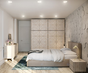 bedroom, classy, and cozy image