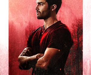 red, teen wolf, and derek hale image
