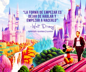 disney, frases, and mickey mouse image