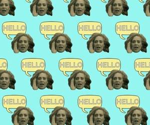 Adele, hello, and wallpaper image
