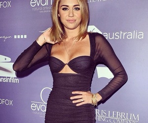 gorgeous and miley cyrus image