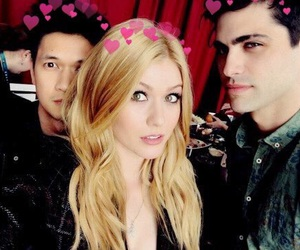 shadowhunters, matthew daddario, and katherine mcnamara image