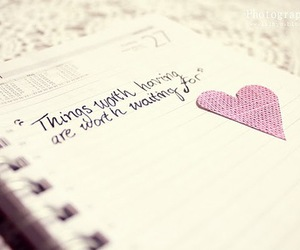quote, heart, and pink image
