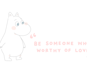 cute and moomin image