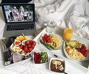 food, breakfast, and fruit image