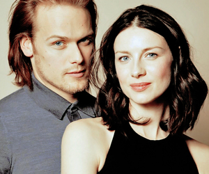 beauty, couple, and outlander image