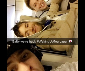 japan, emblem3, and drew chadwick image