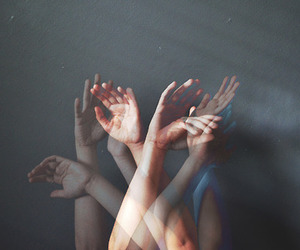 fingers, photo, and hands image