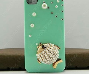 beautiful, fish, and green image