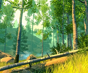 forest, gameplay, and summer image