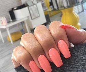 coral, girly, and luxury image