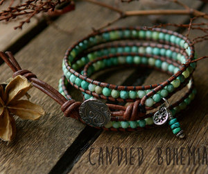 blue, bracelets, and etsy image