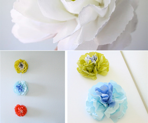 diy, inspiration, and paper flowers image
