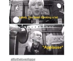 funny, kpop, and bap image