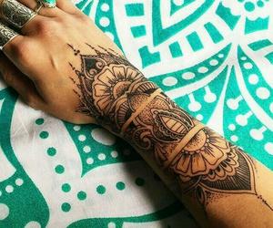 tattoo, Tattoo Designs, and tattoo girl image