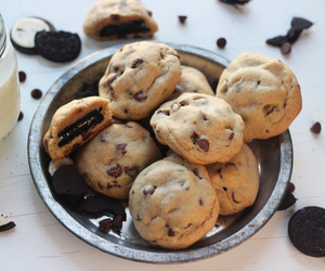 food, Cookies, and oreo image
