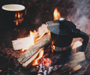 coffee and fire image