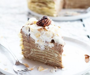 bananas, breakfast, and cakes image
