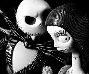 black and white, dead, and jack and sally image