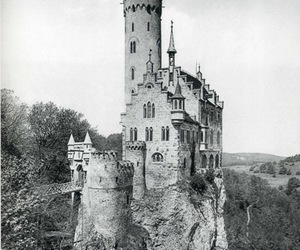 castle and cliff image