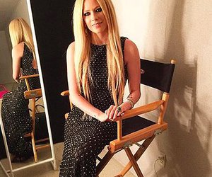 Avril Lavigne and dress image