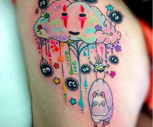 tattoo, anime, and spirited away image
