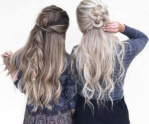 beauty, braids, and friends image