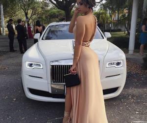 dress, fashion, and car image