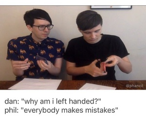 internet, youtube, and dan and phil image