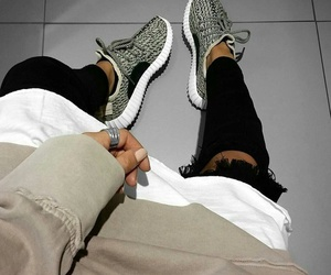 yeezy, shoes, and style image