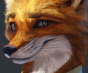 nick wilde, fox, and zootopia image