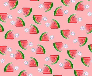 background, iphone, and watermelon image