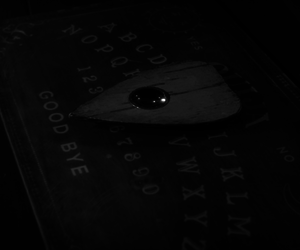black and white, tumblr, and ouija image