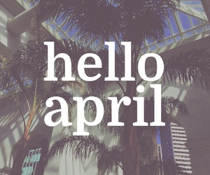 april and hello image