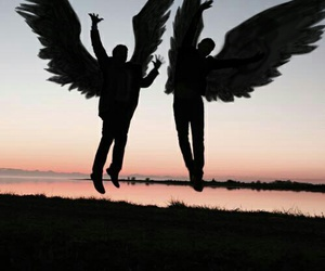 angels, gabriel, and spn image