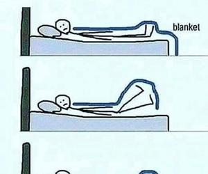 funny, sleep, and true image