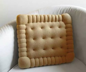 pillow, biscuits, and cookie image