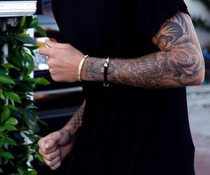 tattoo, justin bieber, and boy image