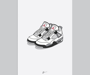 jordan and retro 4 image