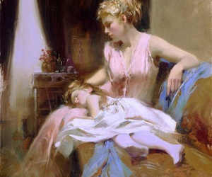 art, drawing, and pino daeni image