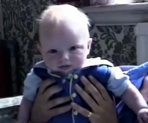 baby and ed sheeran image