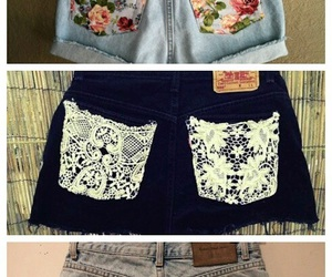 shorts, diy, and summer image