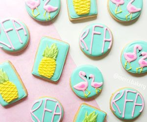 Cookies, flamingo, and party image