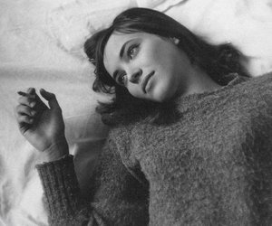 anna karina, black and white, and vintage image