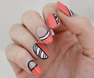 beauty, girl, and nails image