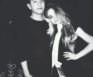 black and white, sabrina carpenter, and bradley steven perry image