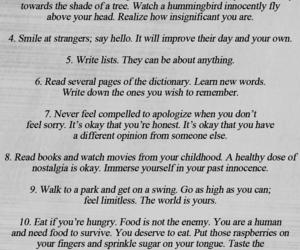 list, sad, and when you're sad image
