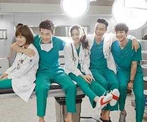 Minho, SHINee, and medical top team image