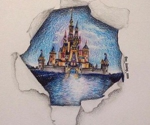 castle, itsmehtiny, and dreams image