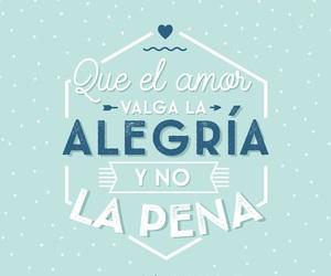 love and alegría image